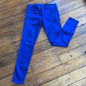 Club Monaco blue skinny jeans